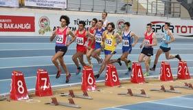 Balkan Athletics Indoor Championships Royalty Free Stock Photos