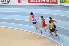 Balkan Athletics Indoor Championships Stock Photo