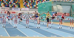 Balkan Athletics Indoor Championships Royalty Free Stock Photography