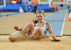 Balkan Atletiek Binnenkampioenschappen Royalty-vrije Stock Foto
