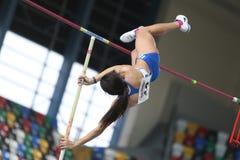 Balkan Atletiek Binnenkampioenschappen Stock Foto