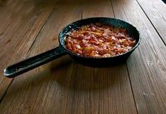 Balkan Baked Beans Stock Photo