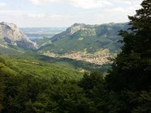 Balkan-Berge Lizenzfreies Stockbild