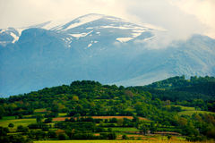 Balkan-Berge stockfotografie