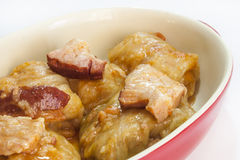 Balkan cabbage rolls Royalty Free Stock Photos