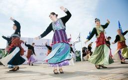 Balkan dance bands Royalty Free Stock Images
