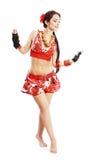 Balkan dance Stock Image