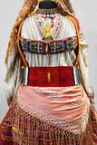 Balkan folk costume Royalty Free Stock Photos