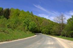 Balkan-Gebirgspassstraße stockfotografie