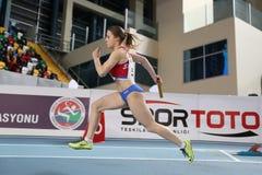Balkan Junior Indoor Championships Istanbul 2017 Royalty Free Stock Images