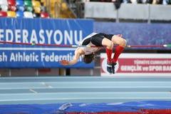Balkan Junior Indoor Championships Istanbul 2017 Stock Photography