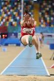 Balkan Junior Indoor Championships Istanbul 2017 Royalty Free Stock Photo