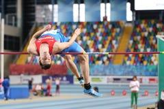 Balkan Junior Indoor Championships Istanbul 2017 Royalty Free Stock Photos