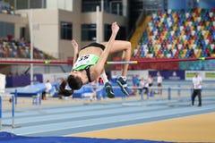 Balkan Junior Indoor Championships Istanbul 2017 Royalty Free Stock Photography