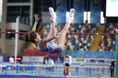 Balkan Junior Indoor Championships Istanbul 2017 Stock Photos