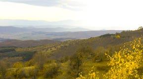 Balkan kullar i höst Arkivbild