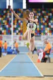 Balkan-Leichtathletik-Innenmeisterschaften Lizenzfreies Stockbild