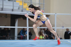 Balkan-Leichtathletik-Innenmeisterschaften Stockfotografie