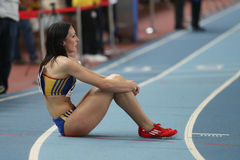Balkan-Leichtathletik-Innenmeisterschaften Lizenzfreie Stockfotos