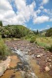 Balkan Mountain. Creek at Balkan Mountain (Stara Planina) National Park in Serbia Europe stock photography