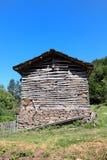 Balkan Mountain. Old barn at Balkan Mountain (Stara Planina) National Park in Serbia Europe royalty free stock images