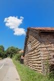 Balkan Mountain. Traditional old house in South-East Serbia or Bulgaria, Balkan Mountain - Stara Planina stock image