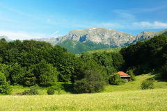 Balkan mountains Royalty Free Stock Images