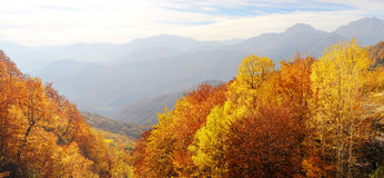 Balkan Mountains in the fall Stock Photography