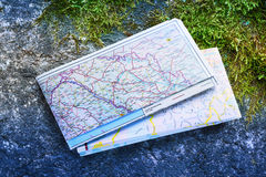 Balkan road map 2012 Royalty Free Stock Photo
