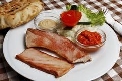 Balkan traditional fast food dimljena vešalica Stock Photography