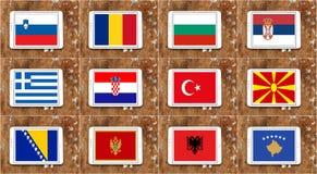 Balkans Obraz Royalty Free