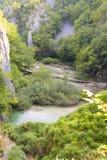 balkans Croatia jezior plitvice Obraz Stock