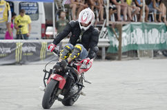 Balkans STUNT INTERNATIONAL CHAMPIONSHIP. At 17 to 19 August 2012, Veliko Tarnovo Stock Photography