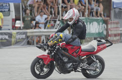 Balkans STUNT INTERNATIONAL CHAMPIONSHIP. At 17 to 19 August 2012, Veliko Tarnovo Royalty Free Stock Photography