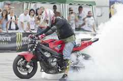Balkans STUNT INTERNATIONAL CHAMPIONSHIP. At 17 to 19 August 2012, Veliko Tarnovo Stock Image