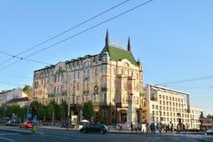 Balkanska街道,贝尔格莱德 免版税库存照片