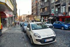 Balkanska街道,贝尔格莱德 库存图片