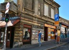 Balkanska街道,贝尔格莱德 免版税库存图片