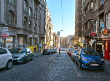 Balkanska街道,贝尔格莱德 免版税图库摄影
