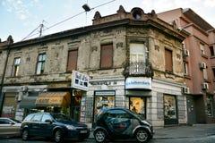 Balkanska街道,贝尔格莱德 库存照片