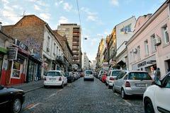 Balkanska街道,贝尔格莱德 图库摄影