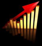 Balkendiagramm Lizenzfreies Stockfoto