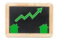 Balkendiagramm des Wachstums Lizenzfreies Stockfoto