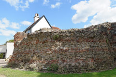 Balkerne Gate,Colchester,UK. A Roman gateway in the town's Roman wall Royalty Free Stock Image