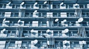 balkonów satelitarne statków Zdjęcia Royalty Free