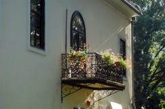 Balkon Royalty-vrije Stock Afbeelding