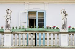 Balkon Stockfotografie