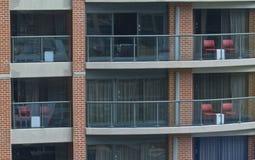 Balkon Royalty-vrije Stock Fotografie