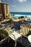 Balkon-Ansicht Lizenzfreie Stockfotografie