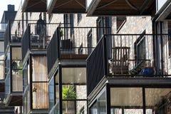 Balkon auf Konservatorium Lizenzfreie Stockfotos
